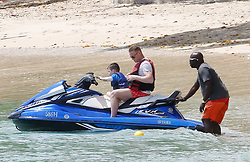 EXCLUSIVE: Wayne and Coleen Rooney are spotted on the beach with their sons while on holiday in Barbados. 20 May 2018 Pictured: Wayne and Coleen Rooney. Photo credit: MEGA TheMegaAgency.com +1 888 505 6342