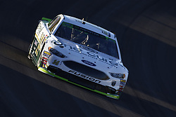 September 14, 2018 - Las Vegas, Nevada, United States of America - Clint Bowyer (14) brings his car through the turns during qualifying for the South Point 400 at Las Vegas Motor Speedway in Las Vegas, Nevada. (Credit Image: © Chris Owens Asp Inc/ASP via ZUMA Wire)