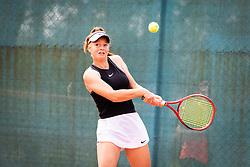 Brina Šulin during final of Državno prvenstvo v tenisu Ptuj, on May 30th, 2019 in Radenci, Slovenia. Photo by Blaž Weindorfer / Sportida