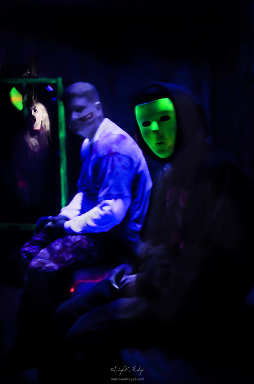 Members of the cast at Monster Martin's 2011 House of Terror.