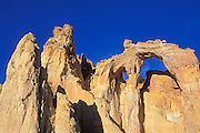 Afternoon light on Grosvenor Arch, Grand Staircase-Escalante National Monument, Utah