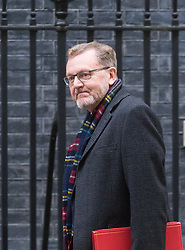 Downing Street, London, October 25th 2016. Scotland Secretary David Mundell arrives at 10 Downing Street for the weekly cabinet following a Heathrow Third Runway Sub-Committee meeting at the same venue.