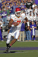 Iowa State quarterback Bret Meyer during action against Kansas State at Bill Snyder Family Stadium in Manhattan, Kansas, October 28, 2006.  The Wildcats beat the Cyclones 31-10.<br />