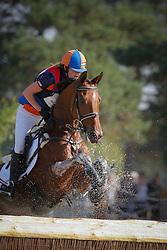 Pemen Iris (NED) - Roosje Embregts<br /> European Championship - Fontainebleau 2009<br /> Photo © Dirk Caremans