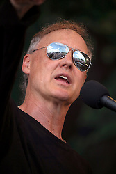 04 May 2012. New Orleans, Louisiana,  USA. .New Orleans Jazz and Heritage Festival. .Bruce Hornsby takes to the Gentilly stage..Photo; Charlie Varley.