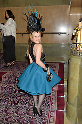 COURTNEY BLACKMAN at the WGSN Global Fashion Awards 2015 held at The Park Lane Hotel, Piccadilly, London on 14th May 2015.