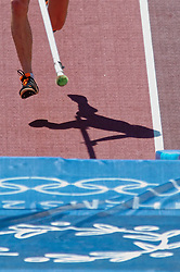 Chiel Warners in action during Olympics Games Athletics day 12 on August 24, 2004 in Olympic Stadion Spyridon Louis, Athens.