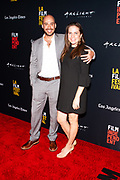 Producer / Editor Alexander Emanuele, and wife