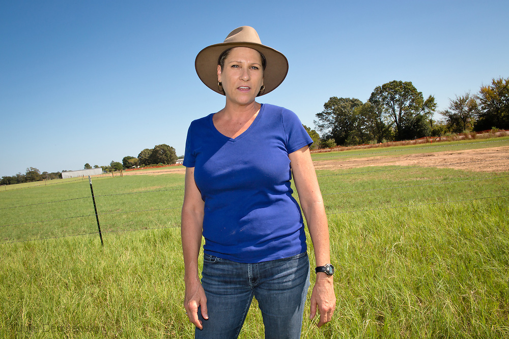 October 16th, Sumner Texas, Julia Trigg Crawford on her farm where she has been battling against TransCanada to stop them from using her land for the Keystone pipeline. She is fighting them in court for improper use of the eminant domain law.