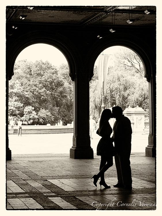 Bethesda Terrace, Central Park, New York City.