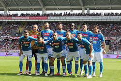September 23, 2018 - Turin, Piedmont, Italy - SSC Napoli players before the Serie A football match between Torino FC and SSC Napoli at Olympic Grande Torino Stadium on September 23, 2018 in Turin, Italy. (Credit Image: © Massimiliano Ferraro/NurPhoto/ZUMA Press)