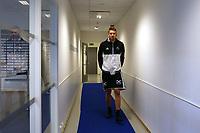 Fotball , 18. june 2017 , Eliteserien, Haugesund - Rosenborg.<br />Nicklas Bendtner fra Rosenborg før kampen mot Haugesund i dag.<br />Foto: Andrew Halseid Budd , Digitalsport