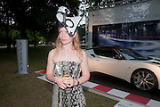 SASHA PHILLIPS, The Grand Prix Ball, before the Formula One,<br /> British Grand Prix at Silverstone,The Hurlingham Club, London. 7 July 2010. -DO NOT ARCHIVE-© Copyright Photograph by Dafydd Jones. 248 Clapham Rd. London SW9 0PZ. Tel 0207 820 0771. www.dafjones.com.