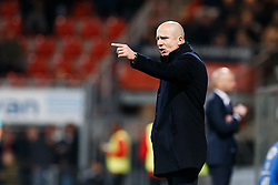 coach Reinier Robbenmond of Willem II during the Dutch Eredivisie match between sbv Excelsior Rotterdam and Willem II Tilburg at Van Donge & De Roo stadium on April 06, 2018 in Rotterdam, The Netherlands