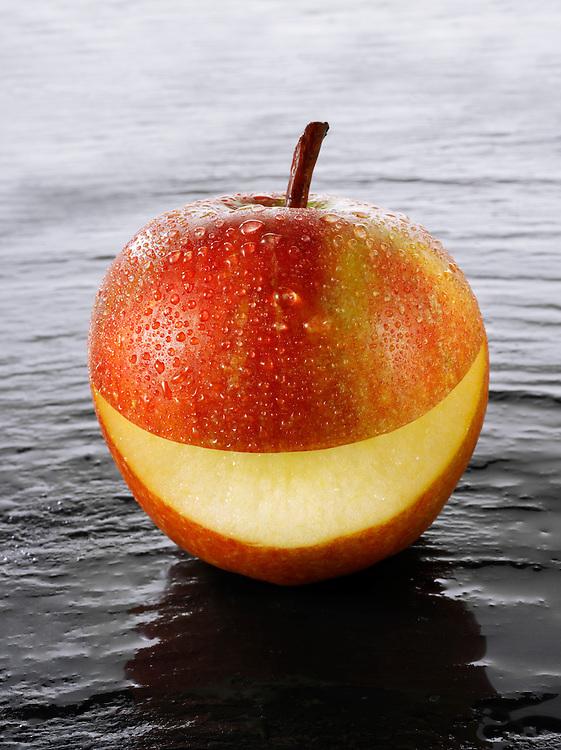 Cox's smiley apple