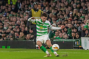 Greg Taylor of Celtic FC during the Europa League match between Celtic and FC Copenhagen at Celtic Park, Glasgow, Scotland on 27 February 2020.