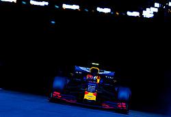 May 25, 2019 - Montecarlo, Monaco - Pierre Gasly of France and Red Bull Racing driver goes during the qualification session at Formula 1 Grand Prix de Monaco on May 25, 2019 in Monte Carlo, Monaco. (Credit Image: © Robert Szaniszlo/NurPhoto via ZUMA Press)