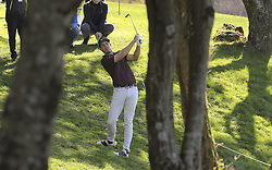 October 20, 2018 - Jeju, SOUTH KOREA - Oct 20, 2018-Jeju, South Korea-JAMIE LOVEMARK of USA action on the 5th green during the PGA Golf CJ Cup Nine Bridges Round 3 at Nine Bridges Golf Club in Jeju, South Korea. (Credit Image: © Ryu Seung-Il/ZUMA Wire)
