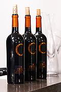 Ovilos red. Biblia Chora Winery, Kokkinohori, Kavala, Macedonia, Greece