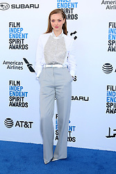 February 23, 2019 - Santa Monica, CA, USA - LOS ANGELES - FEB 23:  Amanda Seyfried at the 2019 Film Independent Spirit Awards on the Beach on February 23, 2019 in Santa Monica, CA (Credit Image: © Kay Blake/ZUMA Wire)