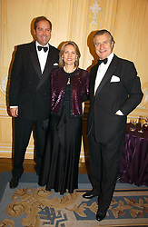 Left to right, the HON.HARRY HERBERT and ARNAUD & CARLA BAMBERGER at the Cartier Racing Awards 2006 held at the Four Seasons Hotel, Hamilton Place, London on 15th November 2006.<br /><br />NON EXCLUSIVE - WORLD RIGHTS