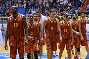 DESCRIZIONE : 5° International Tournament City of Cagliari Olympiacos Piraeus Pireo - Galatasaray<br /> GIOCATORE : Team Galatasaray<br /> CATEGORIA : Ritratto Delusione Postgame<br /> SQUADRA : Galatasaray<br /> EVENTO : 5° International Tournament City of Cagliari<br /> GARA : Olympiacos Piraeus Pireo - Galatasaray Torneo Città di Cagliari<br /> DATA : 18/09/2015<br /> SPORT : Pallacanestro <br /> AUTORE : Agenzia Ciamillo-Castoria/L.Canu