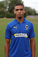 AFC Wimbledon defender Tennai Watson (2) during the AFC Wimbledon 2018/19 official photocall at the Kings Sports Ground, New Malden, United Kingdom on 31 July 2018. Picture by Matthew Redman.