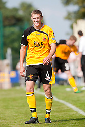 Annan Athletic's Peter Watson..Annan Athletic 1v 2 Dunfermline, Scottish Communities League Cup 1st round, 30th July 2011..©Pic : Michael Schofield.