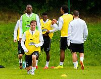 30/06/14<br /> CELTIC TRAINING<br /> AUSTRIA<br /> Celtic's Stefan Johansen in training.