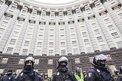 March 23, 2019 - Kiev, Kiev, Ukraine - Riot police during a demonstration against ukrainian government corruption in Kiev, Ukraine. (Credit Image: © Celestino Arce Lavin/ZUMA Wire)
