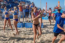 25-08-2019 NED: DELA NK Beach Volleyball, Scheveningen<br /> Last day NK Beachvolleyball / Stefan Boermans, Alexander Brouwer #1, Christiaan Varenhorst #1