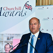 Winner of  Local Hero – Malcolm Dent of the 7th annual Churchill Awards honour achievements of the Over 65's at Claridge's Hotel on 10 March 2019, London, UK.