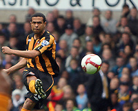 F.A.Barclaycard Premiership. Spurs v Hull. 05.10.08<br /> Pic By Karl Winter Fotosports International<br /> Hull's Geovanni gets the opener