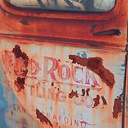 Red Rock Bottling Company Truck Door - Motor Transport Museum - Campo, CA