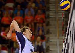 20150613 NED: World League Nederland - Finland, Almere<br /> Jukka Lehtonen #18