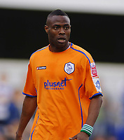 Fotball<br /> England<br /> Foto: Colorsport/Digitalsport<br /> NORWAY ONLY<br /> <br /> Akpo Sodje (Sheffield Wednesday)   Queens Park Rangers v Sheffield Wednesday  13/04/2009