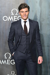 Oliver Cheshire attending the Lost in Space event to celebrate the 60th anniversary of the OMEGA Speedmaster held in the Turbine Hall, Tate Modern, 25 Sumner Street, Bankside, London. PRESS ASSOCIATION Photo. Picture date: Wednesday 26 April  2017. Photo credit should read: Ian West/PA Wire