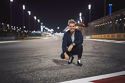 """Nico Rosberg releases a photo on Twitter with the following caption: """"""""Some good memories are coming back!! 🇧🇭<br /> Find my quali analysis on my YouTube<br /> 👉🏻 https://t.co/omX8f4ATM9"""""""". Photo Credit: Twitter *** No USA Distribution *** For Editorial Use Only *** Not to be Published in Books or Photo Books ***  Please note: Fees charged by the agency are for the agency's services only, and do not, nor are they intended to, convey to the user any ownership of Copyright or License in the material. The agency does not claim any ownership including but not limited to Copyright or License in the attached material. By publishing this material you expressly agree to indemnify and to hold the agency and its directors, shareholders and employees harmless from any loss, claims, damages, demands, expenses (including legal fees), or any causes of action or allegation against the agency arising out of or connected in any way with publication of the material."""