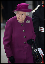 November 15, 2018 - London, London, United Kingdom - Image licensed to i-Images Picture Agency. 15/11/2018. London, United Kingdom. The Queen arriving for The Anglo-Norse Society Centenary Reception in London. (Credit Image: © Stephen Lock/i-Images via ZUMA Press)