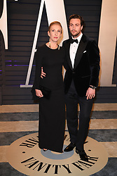 Sam Taylor-Johnson and Aaron Taylor-Johnson attending the 2019 Vanity Fair Oscar Party hosted by editor Radhika Jones held at the Wallis Annenberg Center for the Performing Arts on February 24, 2019 in Los Angeles, CA, USA. Photo by David Niviere/ABACAPRESS.COM