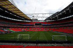General views inside the stadium- Mandatory by-line: Nizaam Jones/JMP - 29/08/2020 - FOOTBALL - Wembley Stadium - London, England - Chelsea v Manchester City - FA Women's Community Shield