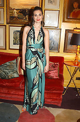 CARMEN at a private dinner and presentation of Issa's Autumn-Winter 2005-2006 collection held at Annabel's, 44 Berkeley Square, London on 15th March 2005.<br /><br />NON EXCLUSIVE - WORLD RIGHTS