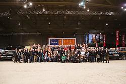 Winnaars Fokkerij Stimulerings Plan<br /> KWPN Stallion Selection - 's Hertogenbosch 2014<br /> © Dirk Caremans