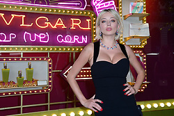 Caroline Vreeland attending a ribbon cutting ceremony of a Bulgari pop-up store at the Galleries Lafayette department store as part of 2017/18 Fall Winter Haute Couture Fashionweek in Paris, France on July 04, 2017. Photo by Aurore Marechal/ABACAPRESS.COM