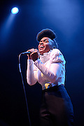 Photos of funk singer Janelle Monáe performing at the Pageant in St. Louis on October 21, 2010.