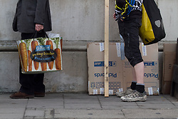 © Licensed to London News Pictures. 26/03/2012. London, UK. Artists submitting their work to the Royal Academy of Arts' Summer Exhibition today (26/03).  The open submission started this morning and will last all week. Last year over 11,000 works were submitted for the Summer Exhibition in what is the world's largest open submission contemporary art exhibition. Photo credit : James Gourley/LNP