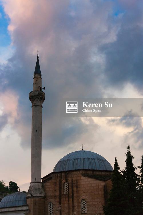 Mosque, Berat (UNESCO World Heritage site), Albania