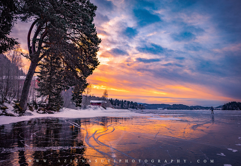 www.aziznasutiphotography.com                             Jonsvatnet is a lake in Trøndelag county, Norway. Most of the lake is in the eastern part of the municipality of Trondheim, with a very small part of the shoreline belonging to Malvik municipality. The lake is the main source for drinking water for the city of Trondheim.