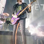John Taylor of Duran Duran performs at the Verizon Center as part of their Paper Gods tour.