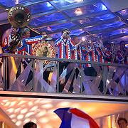 NLD/Baarn/20070314 - 10de Live uitzending RTL Dancing on Ice 2007, gezelligheids schaatsband, orkest, Kleintje Pils